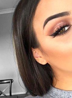 Makeup perfection.