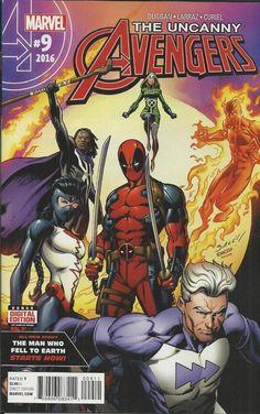 Marvel The Uncanny Avengers comic issue 9