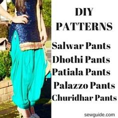how to make harem pants without sewing