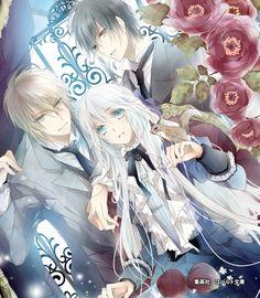 Gothic Anime, Anime Fantasy, Manga Love, Manga Girl, Anime Couples Manga, Manga Anime, Fanart, Hot Anime Guys, Anime Boys