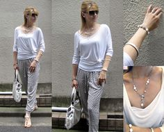 Free and Relaxed Gucci Sunglasses, Uniqlo, Fashion Bags, Sandals, People, Pants, How To Wear, Jewelry, Tops