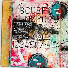 mixed media art journal page by Heather Greenwood - inspired by Donna Downey& Inspiration Wednesday 2015 - week 3 Mixed Media Journal, Mixed Media Collage, Mixed Media Canvas, Kunstjournal Inspiration, Art Journal Inspiration, Journal Ideas, Creative Journal, Junk Journal, Creative Inspiration