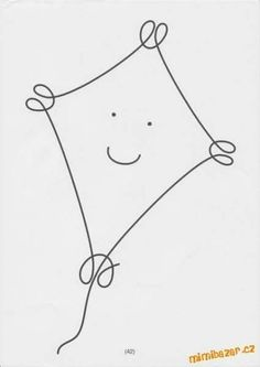 """One line no lifting of pencil Uvolňovací grafomotorické cviky """"Jedním tahem"""" Quilting Templates, Machine Quilting Designs, Quilt Patterns, Single Line Drawing, Continuous Line Drawing, Doodle Designs, Art Graphique, Wire Crafts, Elements Of Art"""