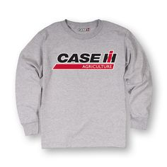 Case Ih Ag Logo Toddler Long Sleeve Tee
