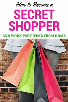 http://www.mymochamoney.com/2871/how-to-become-a-secret-shopper/ Become A Secret Shopper & Work From Home...Learn to become a secret shopper and earn part or full time money working from home. #money