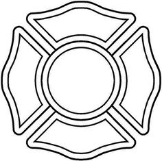 28 Fire Department Maltese Cross Coloring Page Firefighter Logo, Firefighter Crafts, Cross Coloring Page, Coloring Pages, Fire Dept, Fire Department, Fireman Quilt, Truck Window Stickers, Maltese Cross