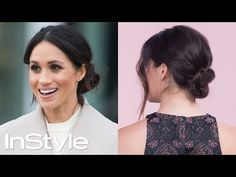 If you want to be a fairytale princess for Halloween, why not just show up to the big spooky festivities as Meghan Markle? Put to really pull off a Markle-inspired look, you'll need to know how to do your hair like Meghan Markle for Halloween. Messy Bun Updo, Messy Bun Hairstyles, Short Hair Messy Bun, Teenage Hairstyles, Messy Buns, Bridal Hairstyles, Girl Hairstyles, Updo Tutorial, How To Bun