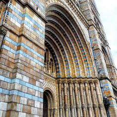 The Natural History Museum in London.. #london #naturalhistorymuseum #touristattraction #museum #historic #history #naturalhistory #decorative #pattern #architecture #heritage #tourism #england #artifacts #art #decorative #education #exhibition