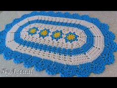 Easy Crochet, Crochet Baby, Crochet Table Mat, Crochet Carpet, Chicken Scratch, Crochet Videos, Crochet Designs, Activities For Kids, Diy And Crafts
