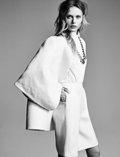 Frida Gustavsson by Hasse Nielsen for Vogue Germany December 2013