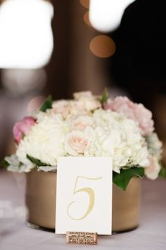 Wedding Centerpiece ~ Dan and Melissa Photography