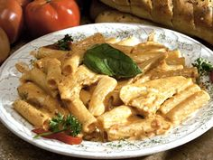 Rigatoni Ala Vodka with Chicken