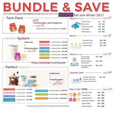 Combine and save. More for your buck. www.nikkiwickless.scentsy.us
