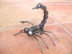 Outdoor Metal Art Sculpture | Scorpian Metal Art Sculpture by Yard Birds
