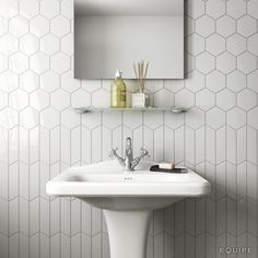 lowes ceramic tile bathroom wall ceramic tiles ceramic tile bathrooms a chevron wall white scale hexagon white bathroom lowes ceramic tile mortar Hexagon Wall Tiles, Hex Tile, Rhombus Tile, Tiling, Honeycomb Tile, Tiles Uk, Subway Tile, Large Hexagon Floor Tile, Hexagon Tile Bathroom Floor