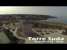 Salento Torre Suda - Racale - Riprese aeree di una piccola perla del Salento - YouTube
