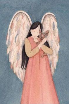Even Angels love Yorkies