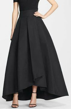 high low long skirt on sale at reasonable prices, buy 2016 England High Low Long Skirts For Women Navy Blue Old Green Black Long Skirt Women Clothing Pleat Maxi Skirt from mobile site on Aliexpress Now! Satin Skirt, Dress Skirt, Dress Up, Dress Long, Diy Maxi Skirt, Prom Dress, Look Fashion, Womens Fashion, Fashion Black