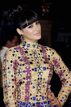 Bollywood Actress Nargis Fakhri during the 60th Britannia Filmfare Awards in Mumbai.