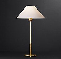 Colson Table Lamp $285 60 w master bedrm