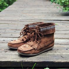 Snohomish Beaded Moccasin, Rugged Boots & Shoes // Spool No.72