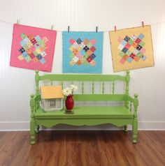 Bee In My Bonnet: New Tutorial - Great Granny Circled Table Runner and the Great Granny Twist Blog Hop!!