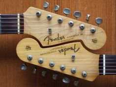 Never realized this before. Stratocaster headstocks match perfectly :-)