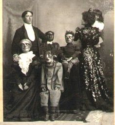 Vintage Halloween Costumes That Will Scare the Crap Out of You! by Storybook Apothecary Featured on #trafficjamweekend