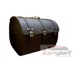 Baúl trasero de cuero moto 40 litros #baules #motos #sissybag #motorcycle…
