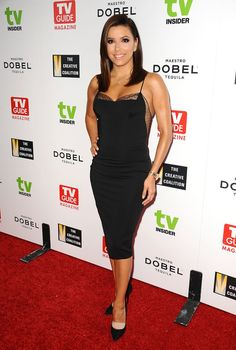 Pin for Later: We Dare You to Find a Sexier Outfit Worn by Eva Longoria — It's Not Possible!