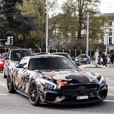Badass GT-S  #Mercedes #Benz #AMG #GTS #Zurich