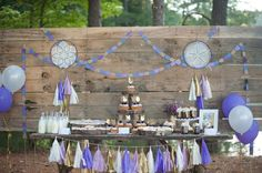 Mia's Tribal Bohemian 2nd Birthday Party | CatchMyParty.com