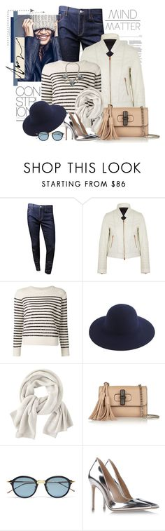 """""""Untitled #2387"""" by bellerodrigues ❤ liked on Polyvore featuring American Eagle Outfitters, Gucci, J.Crew, Yves Saint Laurent, Børn, Wrap, Lulu Frost and Gianvito Rossi"""