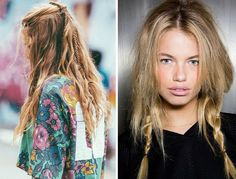 Festival ve konser için yeni 15 Örgülü Saç Modeli 2015