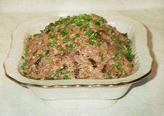 паштет грузинский из фасоли, орехов и чеснока
