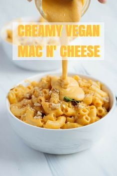 Creamy Vegan Mac and Cheese — MiNY