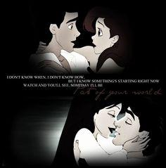 favorite Disney Princess movie. love this couple.