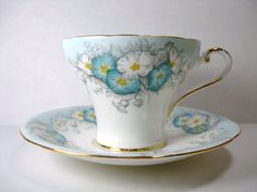 Vintage Aynsley Teacup and Saucer English Fine Bone China