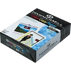 "Great for Copic Markers! Hammermill  Color Copy Digital Paper, Photo White, 8 1/2""(W) x 11""(L),Ream"