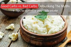 Easily distinguish between good and bad carbohydrates. And find out how to…