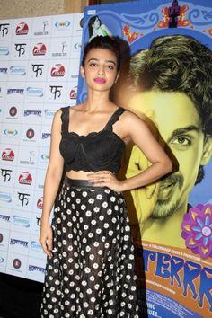 Radhika Apte Black Dress Hot Pictures