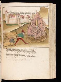 Bern, Burgerbibliothek / Mss.h.h.I.16 – Diebold Schilling, Spiezer Chronik / p. 497
