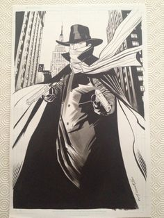 Wilfredo Torres - The Shadow Comic Art