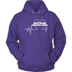 Australian Shorthaired Picscher Heartbeat Hoodie