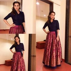 Buy Designer Indian Saree, Bollywood Collection of Anarkali Salwar Suits, Designer Gowns Ethnic Outfits, Indian Outfits, Fashion Outfits, Fashion Ideas, Indian Clothes, 50 Fashion, Modest Fashion, Casual Outfits, Indian Skirt