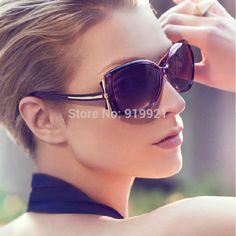 Barato Livre shiping moda Eye glasses mulheres lentes de óculos de sol, Compro Qualidade Óculos Escuros diretamente de fornecedores da China: