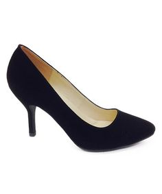 Loving this Black Deluxe Pump on #zulily! #zulilyfinds