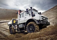 wildcrumbs_001 Unimog. For 2014, Mercedes-Benz has something new came up and although a number of Unimogs in 10 different versions. For terrain, as a rail vehicle or a water cannon, the Unimog can take on any task.