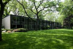 AD Classics: Lafayette Park / Mies van der Rohe Form Architecture, Classic Architecture, Seagram Building, Farnsworth House, Ludwig Mies Van Der Rohe, Modern Architects, Lafayette Park, Detroit, Exterior