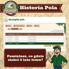 Prowadzenie historii pola nigdy nie było tak proste niż teraz dzięki www.rolnikon.pl.